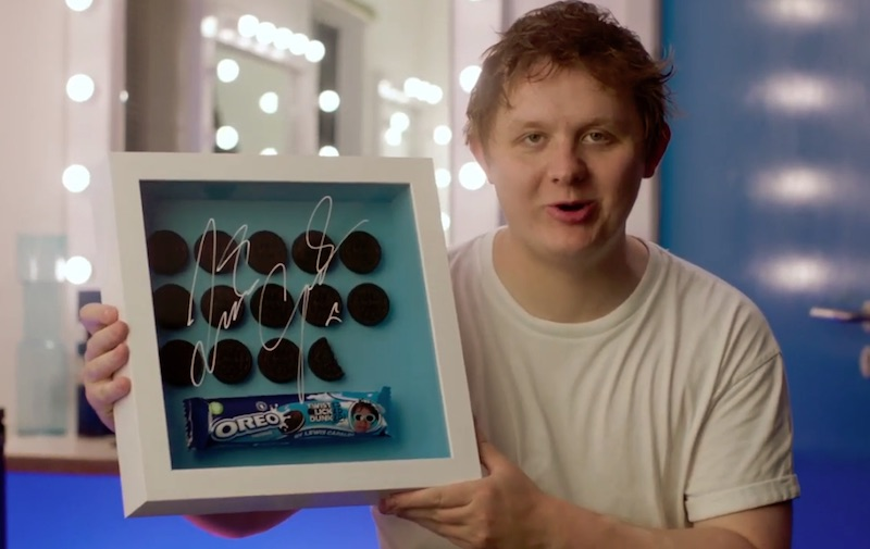 OREO x Lewis Capaldi - Twisted Licked Dunked