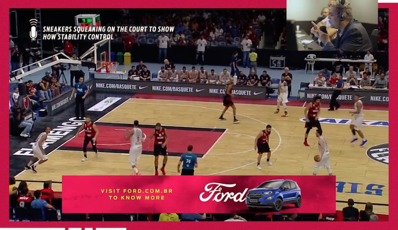 Ford EcoSport - No Squeak Broadcast