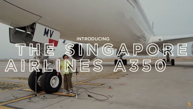 Chong the Nomad ft. the Singapore Airlines A350 - Non-Stop