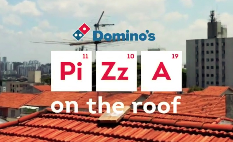Domino's Pizza On the Roof