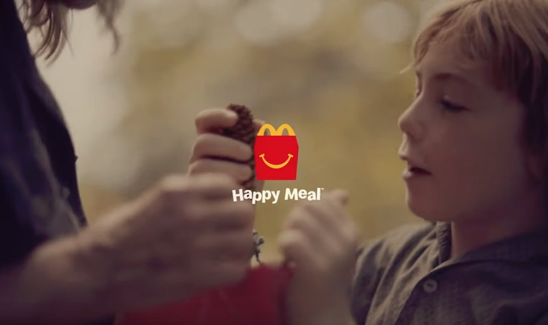 McDonald's - Happy Meal - Childhood is inside