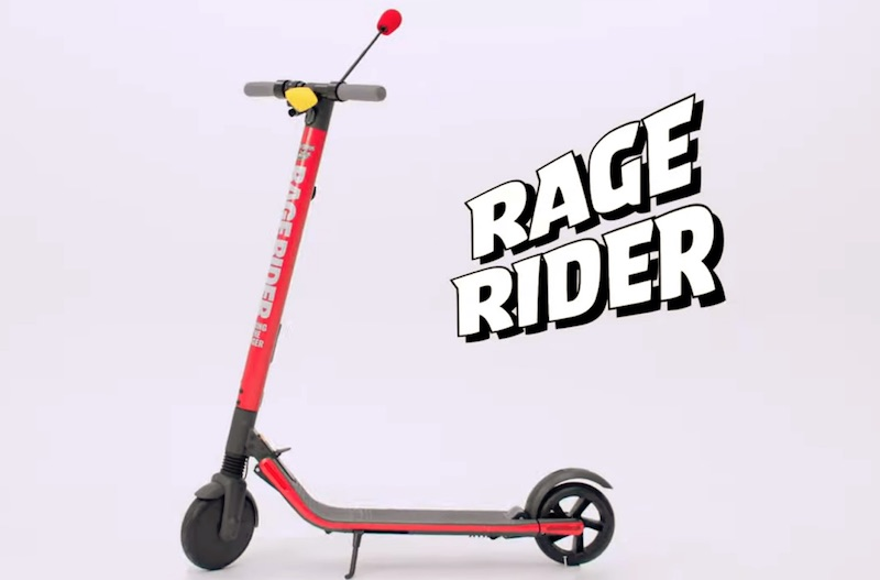 THE RAGE RIDER: The Anger-Powered Scooter By Angry Birds