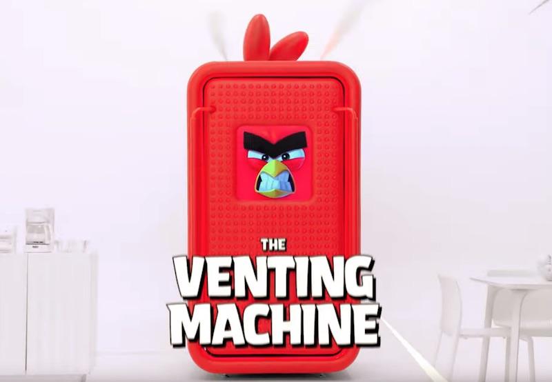 THE VENTING MACHINE