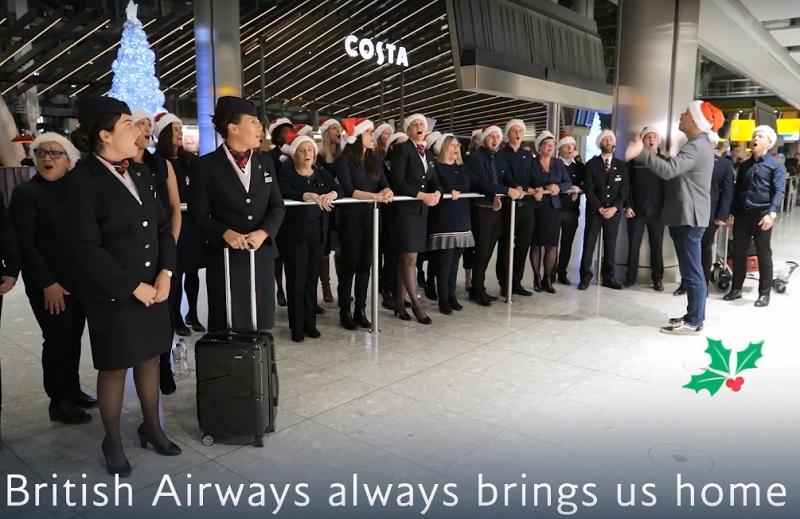 British Airways - Deck the Arrival Halls