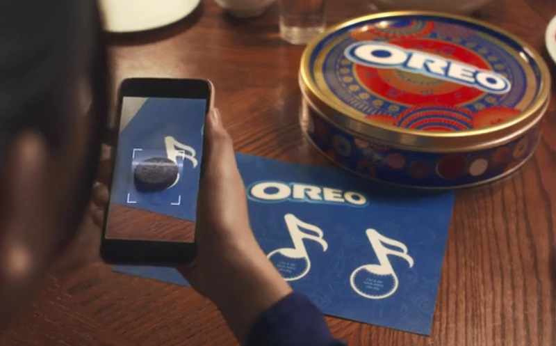 Add music to your celebration with OREO