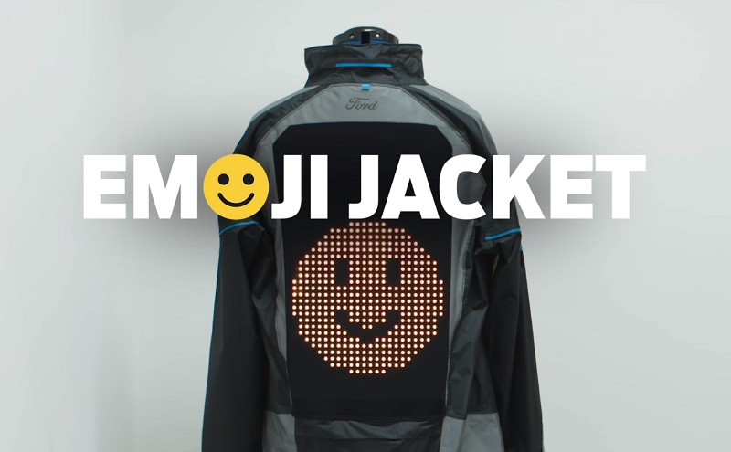 Ford Emoji Jacket helps people to share The Road