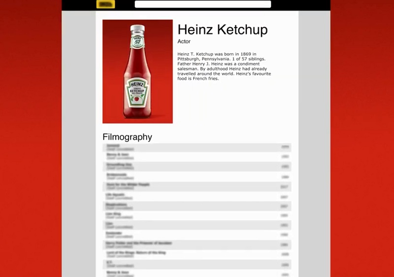Heinz On Film