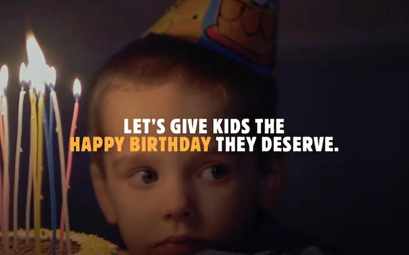 BURGER KING - UNHAPPY BIRTHDAY