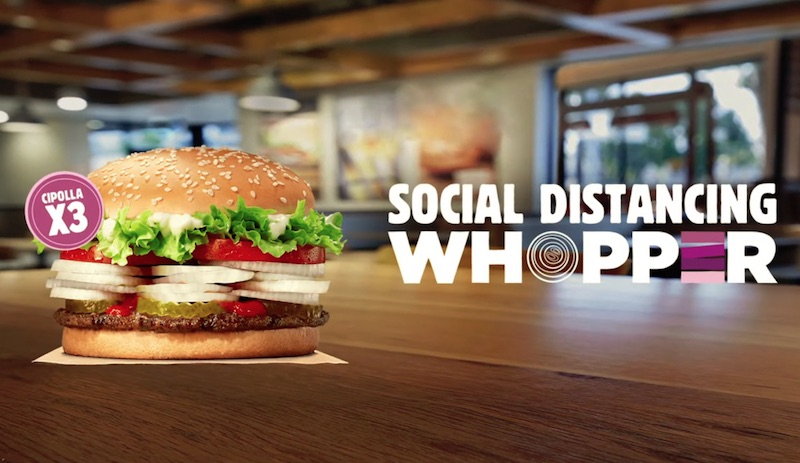 Social Distancing Whopper®