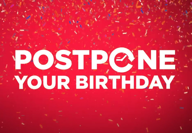 Jupiler – Postpone your Birthday