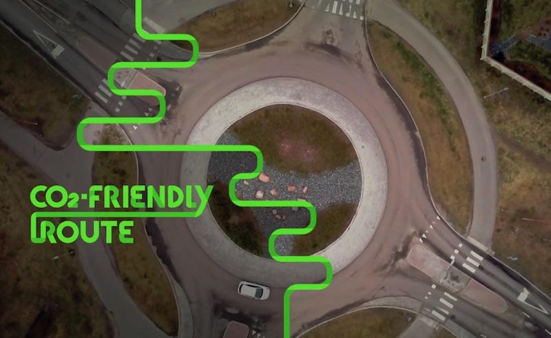 CO2 Friendly Route
