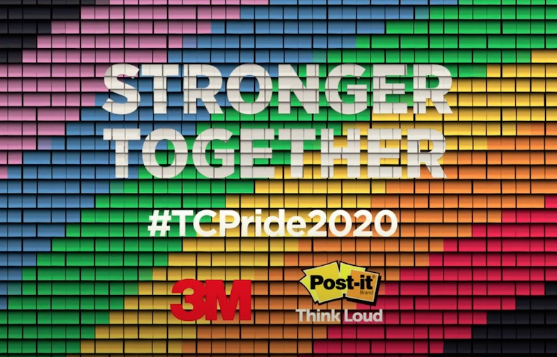 Post-it® Brand Think Loud and Proud. We are Stronger Together