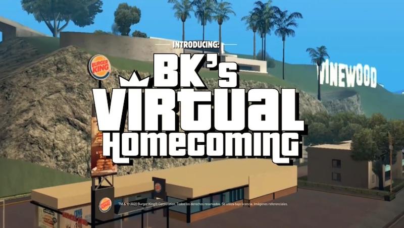 Burger King's Virtual Homecoming