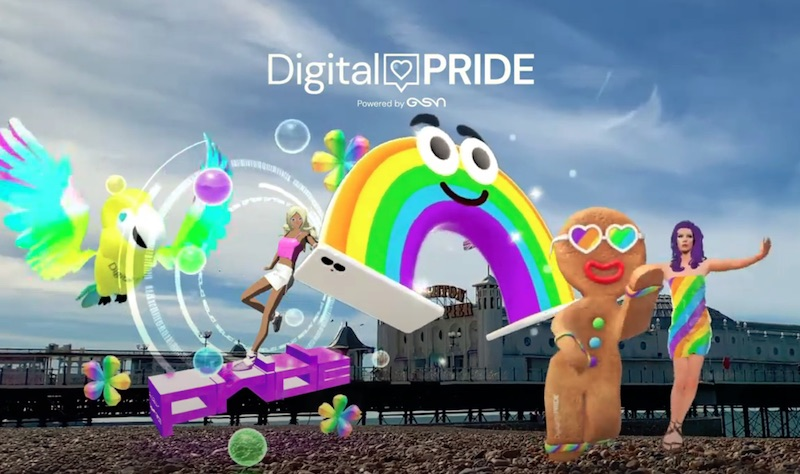The AR Digital Pride Floats