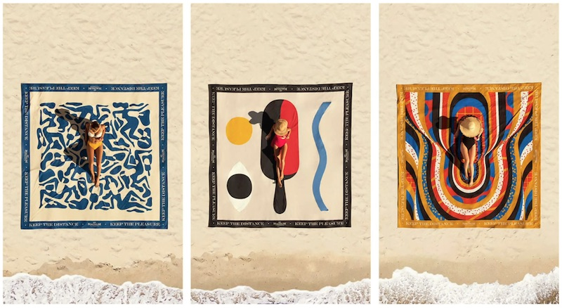 Magnum launch luxury line of beach towels
