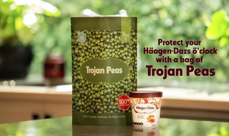 Haagen-Dazs - Trojan Peas