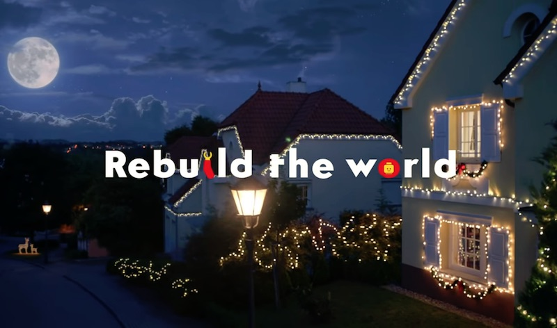And I think to myself... that's the 2020 LEGO holiday season ad!