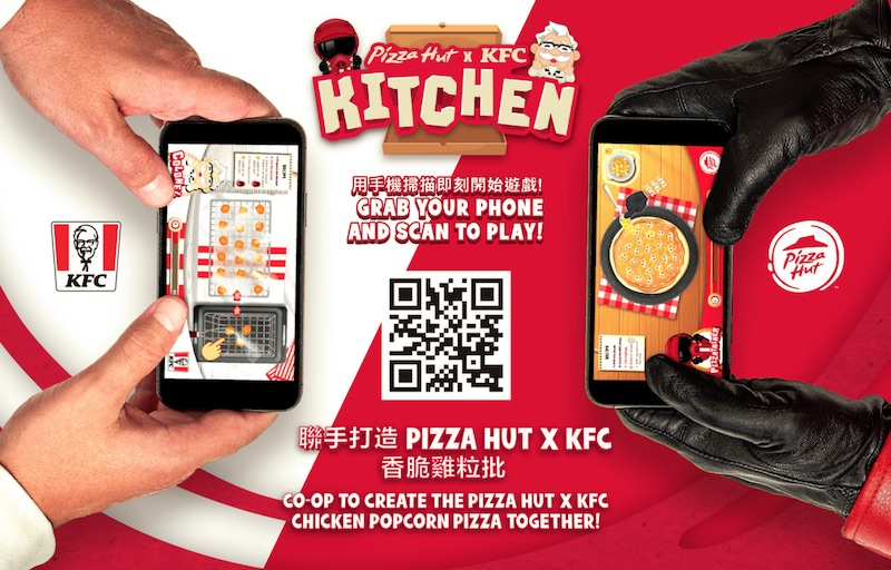 Pizza Hut x KFC
