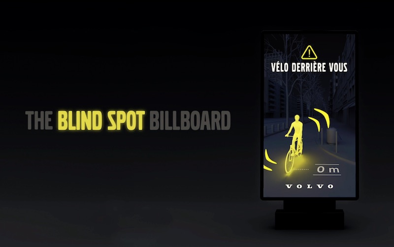 Volvo Blind Spot Billboard