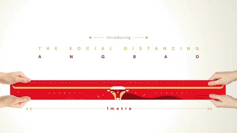 Introducing the Social Distancing Ang Bao