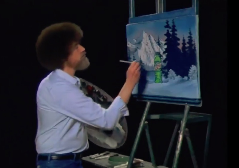 The Joy Of Painting MTN DEW with Bob Ross