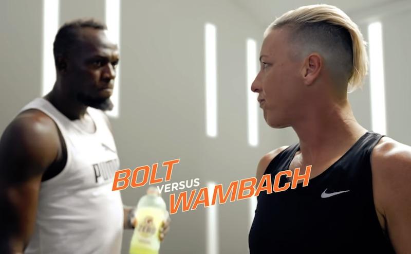 Abby Wambach vs. Usain Bolt | I Can Do Better