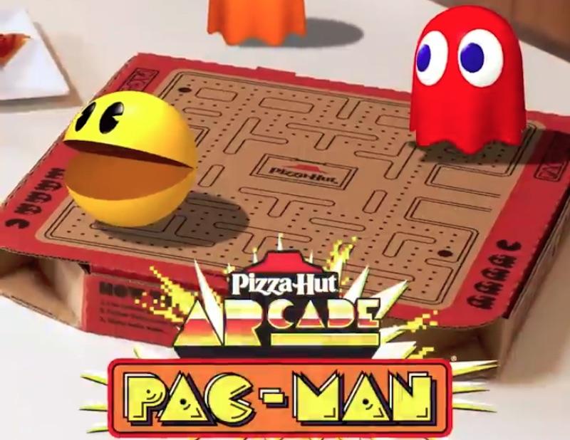 PizzaHut ARcade Pac-Man