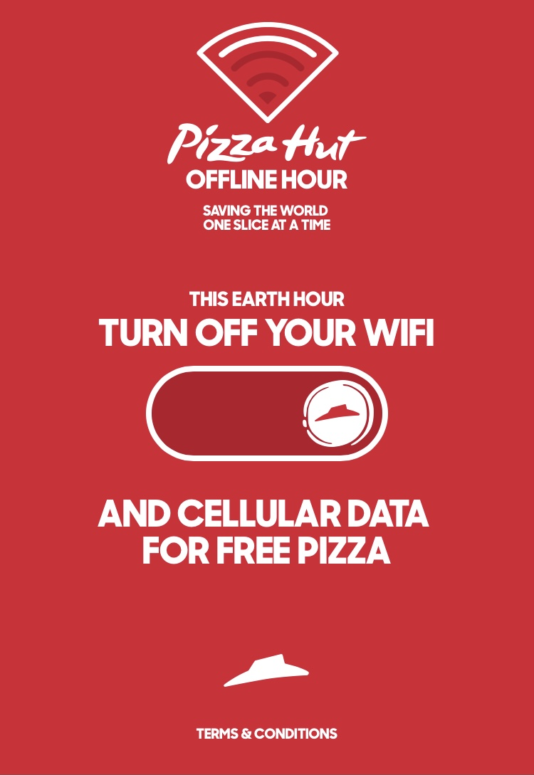 Offline Hour - Pizza Hut