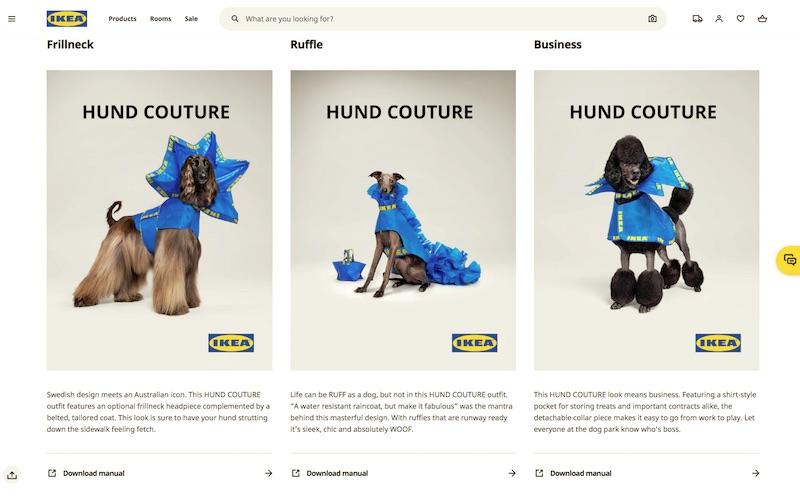 HUND COUTURE   IKEA Australia