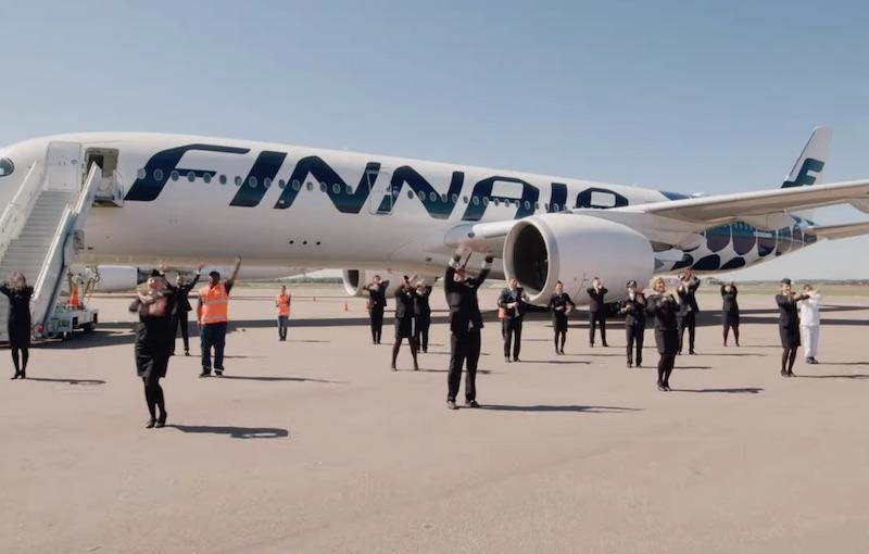 Finnair Crew welcomes you back onboard