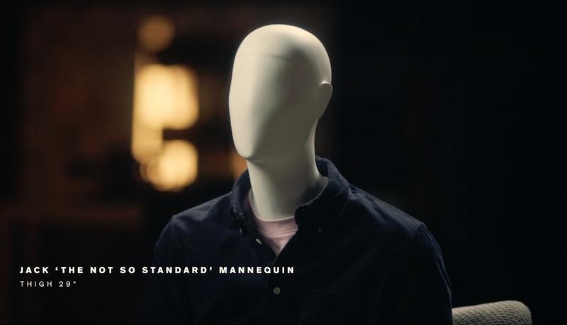 Jack the not so standard Mannequin