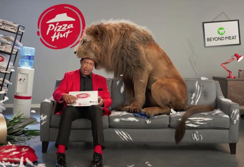PIZZA HUT I BEYOND MEAT PIZZA