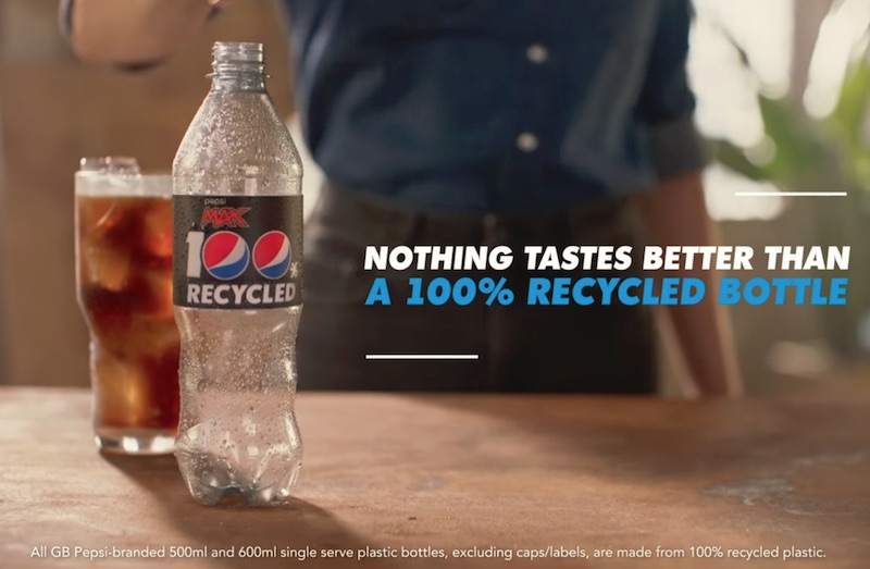 Pepsi MAX | 100% Recycled | #NothingTastesBetter