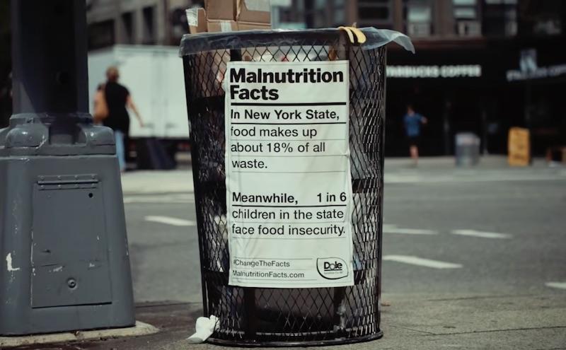 Dole - Malnutrition Labels (Food Waste)