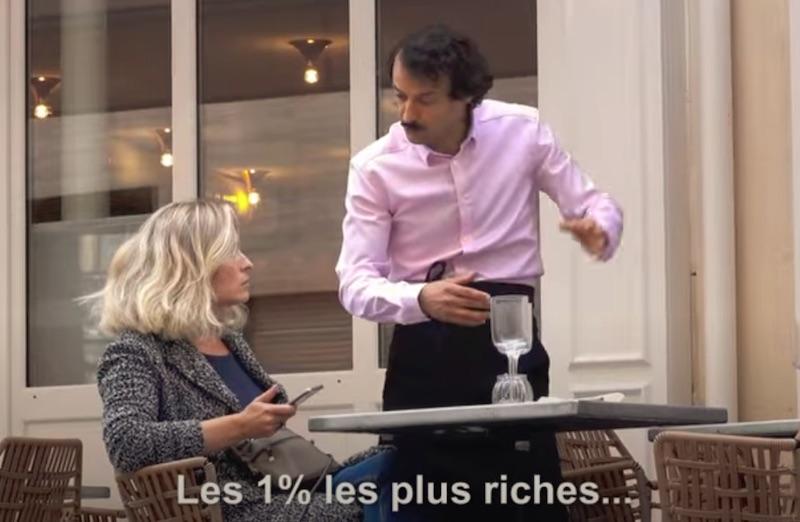La première terrasse réservée aux 1% les plus riches