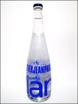 evian year bottle 2009 by Jean-Paul Gaultier