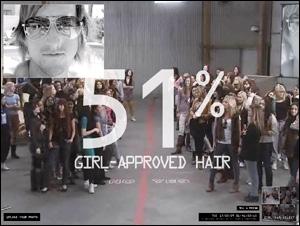 Axe 100 Girls - AXE HAIR CRISIS RELIEF