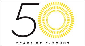 ニコンFマウント誕生50周年
