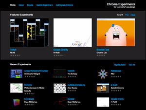 Chrome Experiments