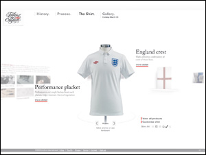 NEW ENGLAND FOOTBALL SHIRT | UMBRO