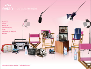Evian | Live young the Movie