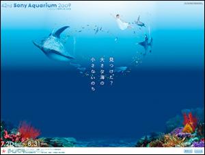 42nd Sony Aquarium 2009 ハイビジョン沖縄美ら海水族館 ソニービル