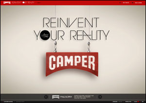 CAMPER   Reinvent Your Reality