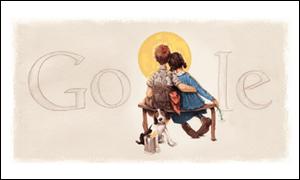 Google  ノーマン ロックウェルの誕生日