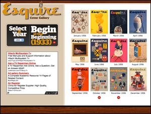 Esquire Cover Gallery