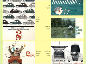 The fantastic Citroen 2cv pages