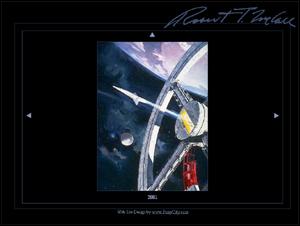 NASA Space Art Gallery of Artist Robert T. McCall