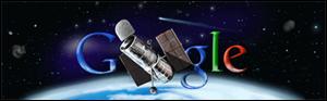 Google NASAのハッブル宇宙望遠鏡打ち上げ20周年