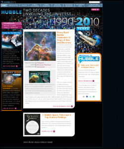 HubbleSite - Two Decades Unveiling the Universe