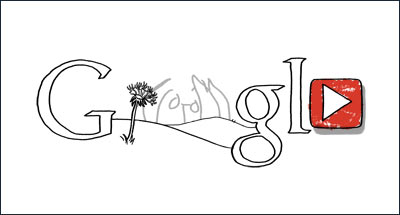 Google ジョン・レノンの誕生日
